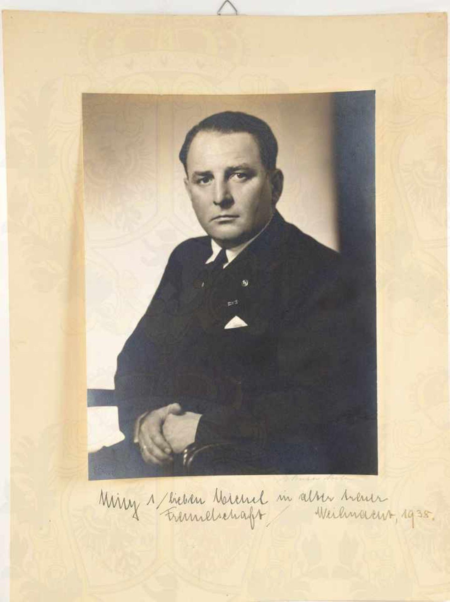 Los 6 - SACHS, WILLY, (1896-1962), dt. Industrieller, ab 1933 Wehrwirtschaftsführer, 1943 SS-