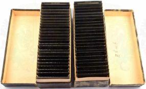 55 GLASDIAS KÜSTEN WESTEUROPAS UND HARZ, um 1910, Serie 90, Portsmouth, Ruine Melrose Abbey,