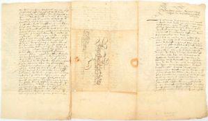 """FRIEDRICH ULRICH, letzter Herzog v. Braunschweig-Wolfenbüttel (1591-1634), OU """"Friedrich Ulrich"""","""