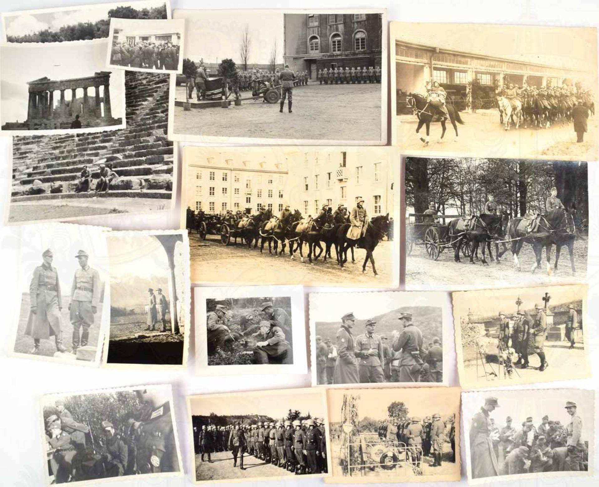 FOTO-/DOKUMENTENNACHLASS, Major Hans Erich von Mohnsdorff, (Hannover 1915, gefallen 30.9. 1944 in - Bild 2 aus 2
