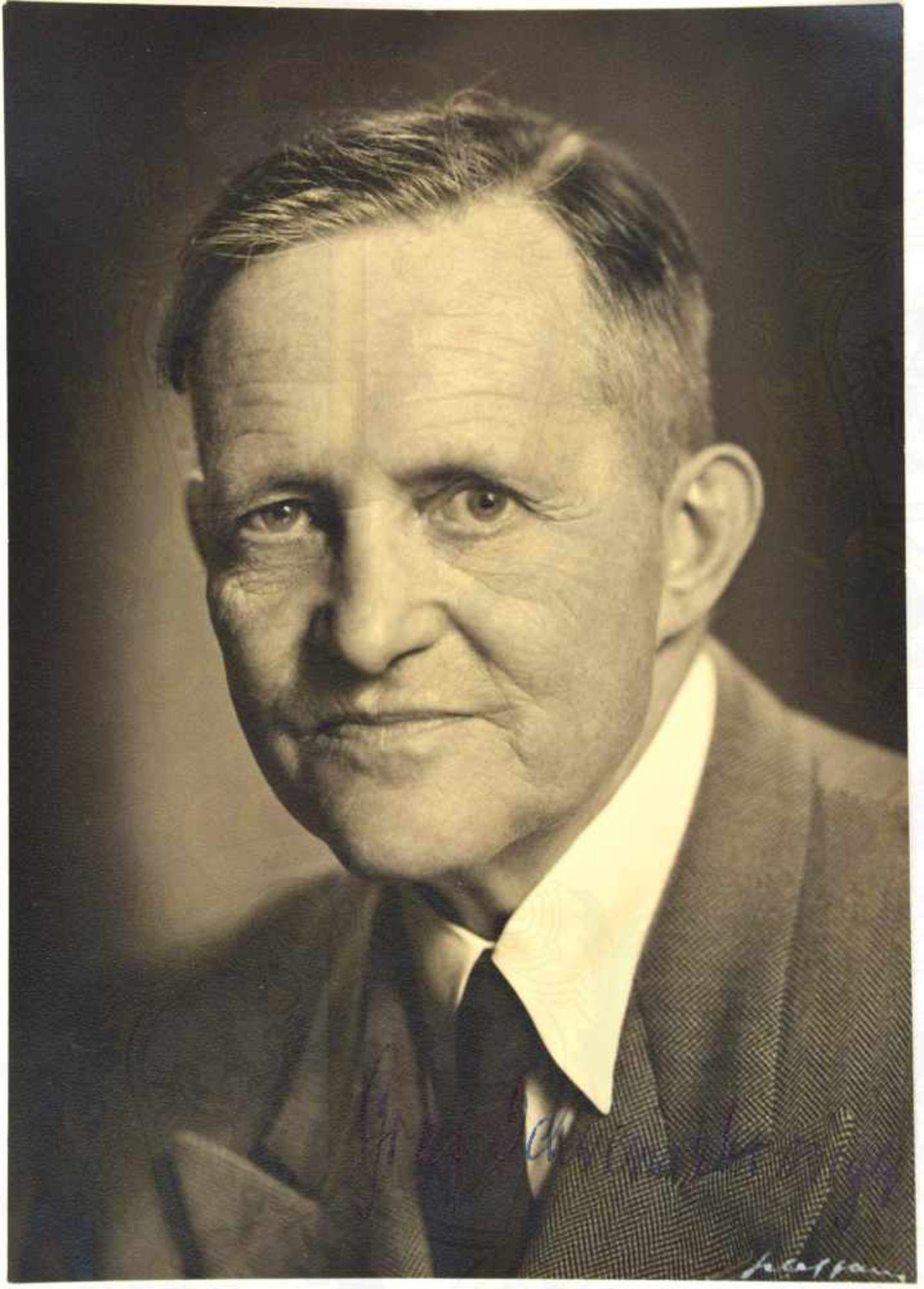 Los 20 - GRAF SCHWERIN VON KROSIGK, JOHANN LUDWIG (1887-1977), dt. Jurist u. Politiker, 1932- 1945
