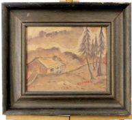 """Gemälde """" Gebirgslandschaft """"<"""