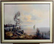 """Spree, Carol ( 1907 - ? ) """" Seelandschaft """""""