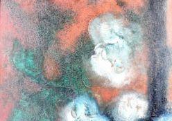 Gemälde Informelle Malerei um 1950-1960<