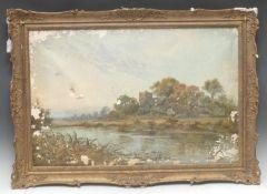 Charles Leader (fl.1880-1920) Near Aberystwyth, North Wales signed, oil on canvas, 48.5cm x 73.5cm