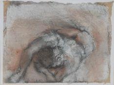 C R Britton Ballet Study mixed medium, 30cm x 40cm