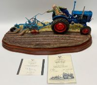 A Border Fine Arts model 'At the Vintage' limited edition no.997/2000, boxed
