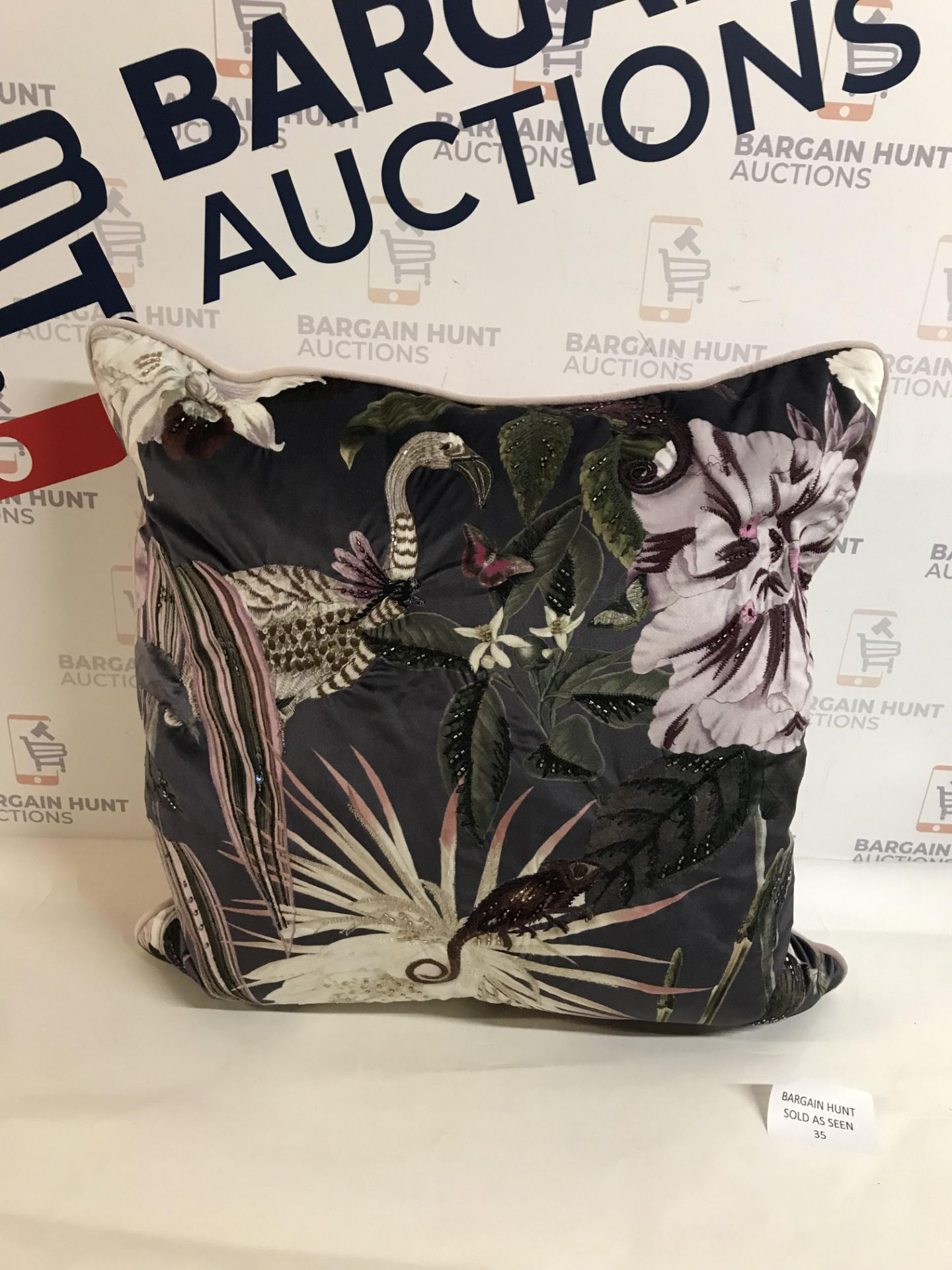 Lot 35 - Amelie Embellished Cushion