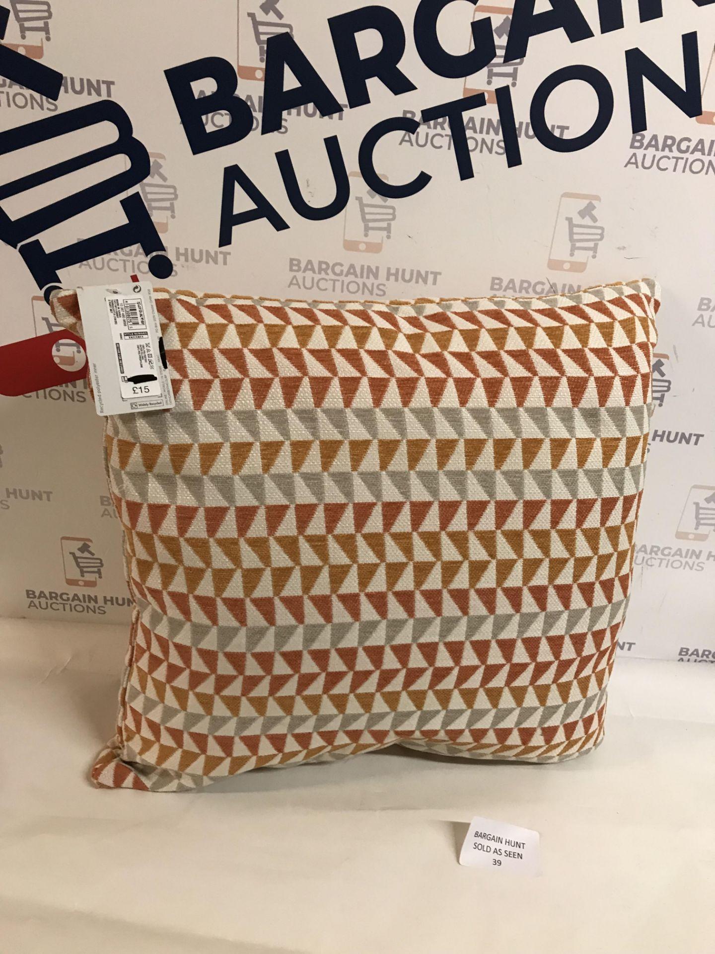 Lot 39 - Triangle Chenille Cushion