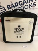 Supersoft Teddy Mattress Protector, Super King