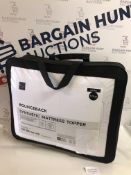 Bounceback Synthetic Mattress Topper, Double RRP £49.50