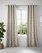 Layla Circles Eyelet Curtains RRP £89