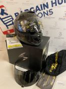Scorpion Motorcycle helmets EXO 1400 AIR CARBON Solid, Large RRP £256.99