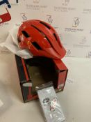 Bell Unisex Youth Sidetrack II Children's Bicycle Helmet Red Bolts RRP £45.99