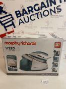 Morphy Richards 333203 Speed Steam Generator Iron, 3000 W RRP £69.99