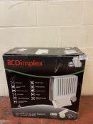 Dimplex CDE2ECC Cadiz 2kW Portable Oil Free Electric Radiator (no power) RRP £142.99