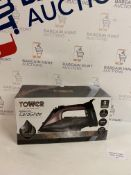 Tower 2 in 1 Cord & Cordless Steam Iron