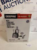 Geepas Compact Food Processor RRP £42