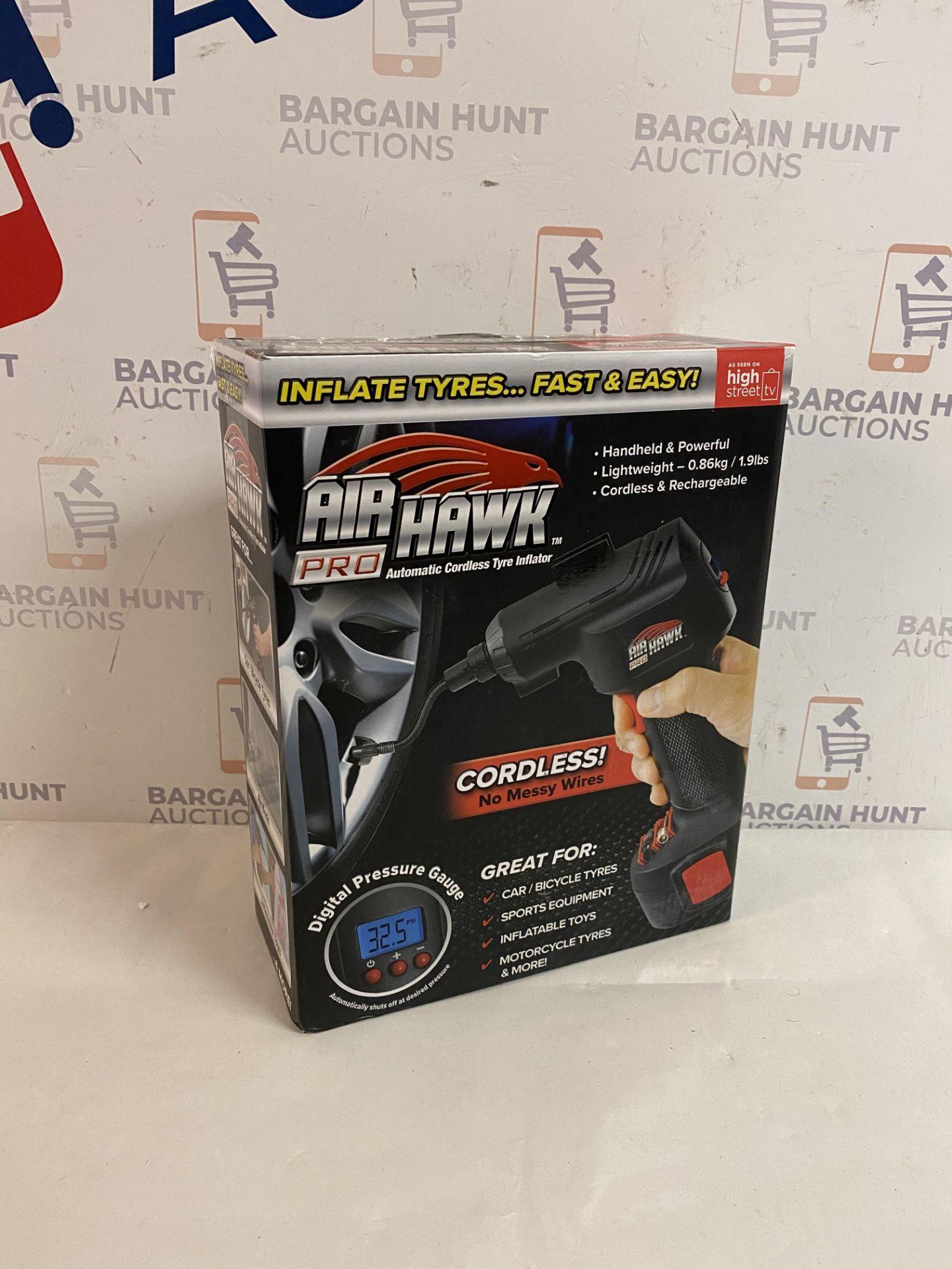  1x   Air Hawk Pro Compressor   Refurbished   No Online Resale   SKU 5060191466837   RRP £49.99  