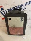 Supremely Washable Synthetic 10.5 Tog Duvet, King Size RRP £42