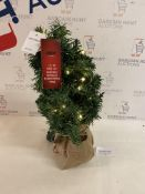 1.5 FT Pre Lit Nordic Spruce Christmas Tree