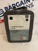 Comfortably Cool Synthetic 3.0 Tog Duvet, Double RRP £39