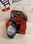 Trespass Crankster Adjustable Cycle Safety Helmet, L/XL