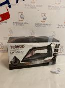 Tower T22008RG CeraGlide 2-in-1 Cord & Cordless Steam Iron