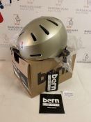 Bern Unisex's Macon Helmet, Medium RRP £42.99
