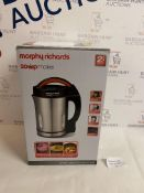 Morphy Richards Soupmaker Stainless Steel Soup Maker RRP £64.99