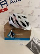 Alpina Women's LAVARDA Cycling Helmet, White Rose Gold 52-57 RRP £74.99