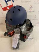 Triple 8 Brainsaver EPS Unisex's Rubber Helmet, L/XL