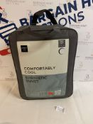 Comfortably Cool Synthetic 6.0 Tog Duvet, Super King