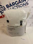 Bounceback Synthetic 10.5 Tog Duvet, Double