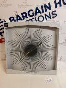 Spuntik Wall Clock RRP £35