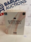 Supremely Washable 4.5 Tog Duvet, Double