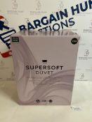 Supersoft 13.5 Tog Duvet, King Size RRP £99