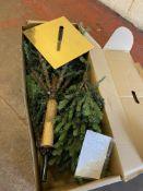 6ft Lit Fraser Fir Christmas Tree RRP £159
