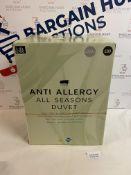 Anti Allergy All Seasons 13.5 Tog Duvet, King Size RRP £89