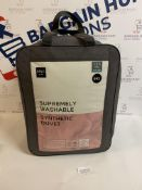 Supremely Washable Synthetic 13.5 Tog Duvet, King Size RRP £45
