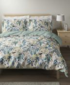 Pure Cotton Sateen Harriet Bedding Set, King Size RRP £69