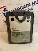 Anti Allergy Synthetic 13.5 Tog All Seasons Duvet, Super King RRP £99