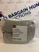 V Shape Supersoft Teddy Fleece Support Pillow