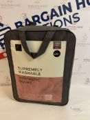 Supremely Washable Synthetic 10.5 Tog Duvet, Single