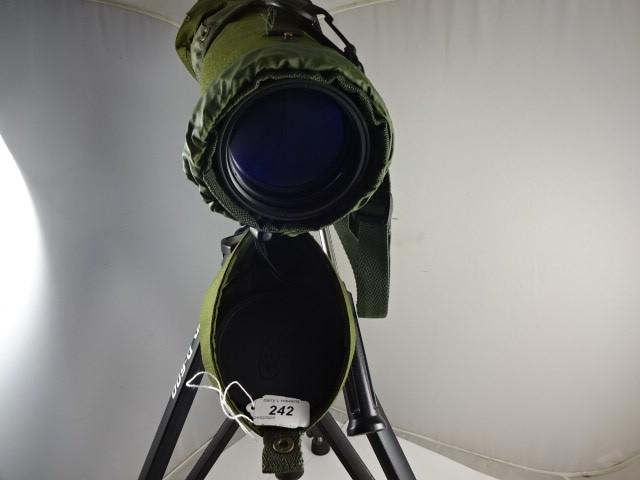 Lot 242 - KOWA TELESCOPE WITH VELBON D600 TRIPOD