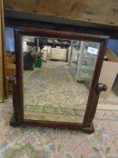 Mahogany Swing dressing table mirror