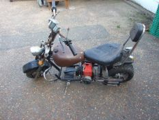 Childs Chopper with petrol engine ( A/F from house clearance ) Viewing by appoinment