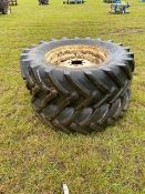 David Brown 16.9x30 rims and tyres