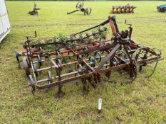 Spring tined cultivator
