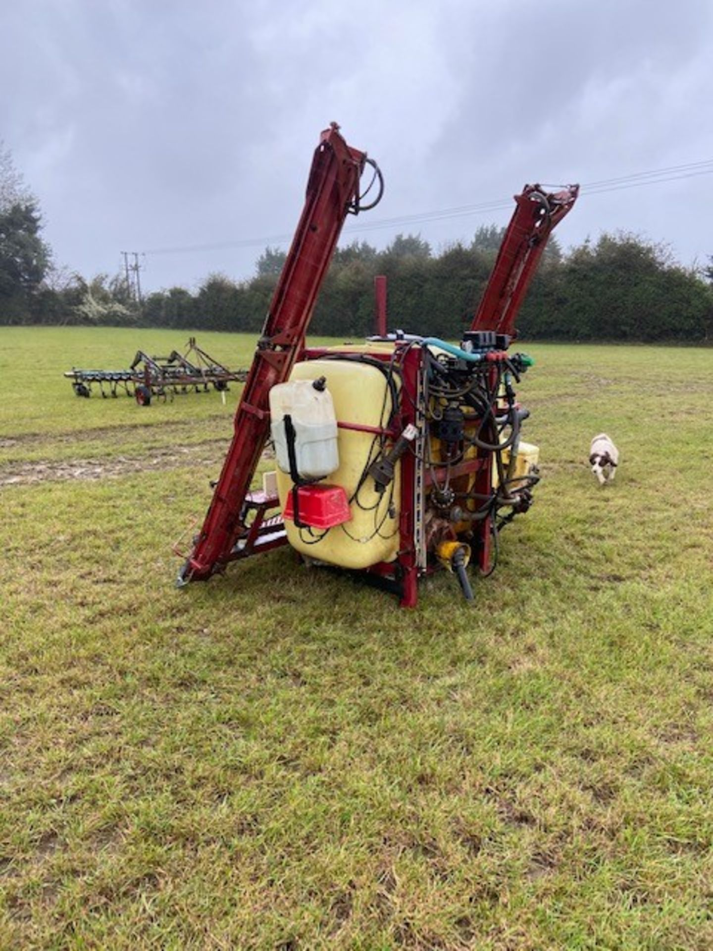 Hardi 12m sprayer hydraulic boom new pump with foam markers